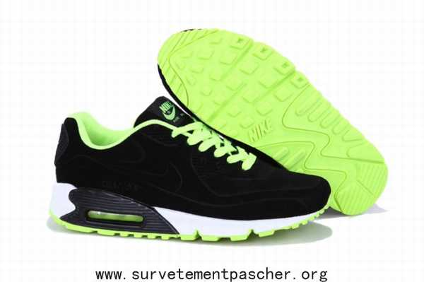 Nike Air Max Vert Jaune Rouge