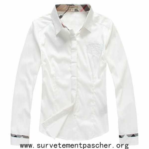 8fe42a33684e achat chemise burberry